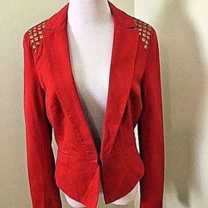 XOXO Women's casual Jacket color Red size XL